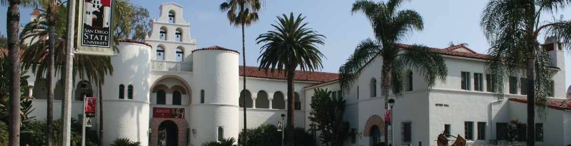A photo of Hepner Hall.